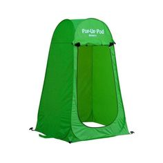 GigaTent Portable Pop Up Changing Room Green-ST002 - The Home Depot Tent Set Up, Pop Up Tent, Pop Up Changing Room, Sun Shade Tent, Portable Outdoor Shower, Boy Scout Camping, Camper Awnings, Beach Tent, Tent Camping
