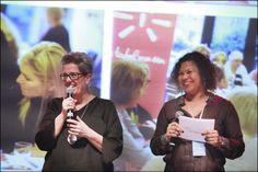 Ineke Hurkmans en Anousha Nzume. Foto: Rebke Klokke.