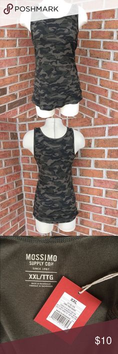 NWT Mossimo Camo Tank New with tags Mossimo (Target) camouflage racerback tank top. Mossimo Supply Co Tops Tank Tops