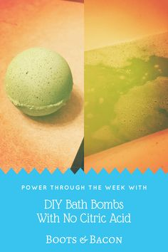 I've been told in the past by several people that they've always wanted to try to make their own bath bombs, but they don't have any citric acid and they didn't want to go o…