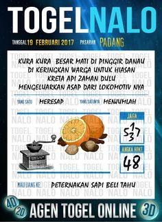 Tafsir Akurat 4D Togel Wap Online Live Draw 4D TogelNalo Padang 19 Febuari 2017