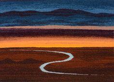 Tapestry Artist Linda Giesen: Desert Stream