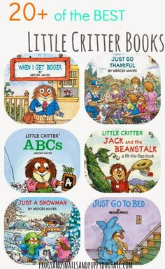 Little Critter Book List on FSPDT Some of our favorite books!  Great gifts for kids too.