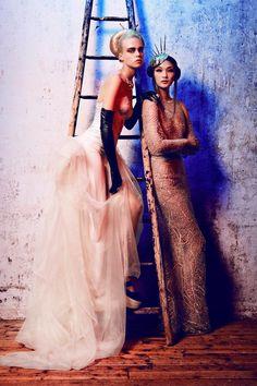 Alexander Neumann Captures Haute Couture Style for L'Officiel Paris October 2012