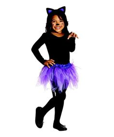 Take a look at this Rubie's Cat Dress-Up Set - Girls on zulily today!
