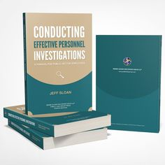 Freelance Project - Revamp of bookcover for professional investigations resource guide by Jakob Harteg