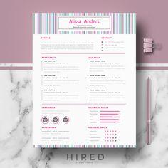 Resume Templates Creative CV Resume Template Modern CV Templates for Word & Creative Cv Template, Modern Cv Template, Cv Resume Template, Resume Layout, Resume Tips, Resume Writing, Resume Examples, Resume Cv, Cv Design
