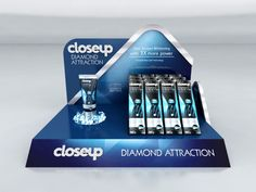 Close Up - diamond - Counter stands on Behance
