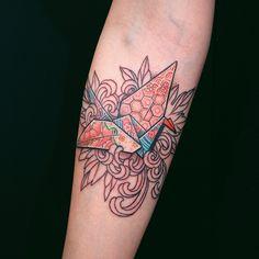 #origamitattoo #supportgoodtattooing #support_good_tattooing #InkedMag