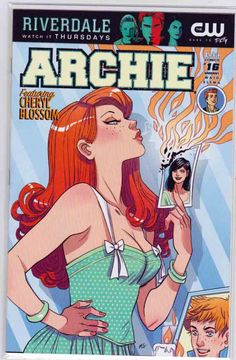 Archie // Dilton Doiley, Riverdale's smartest kid, is in the spotlight — but Reggie Mantle has a vested interest in taking him out! Meanwhile, Cheryl Blossom plans her ultimate revenge against Veronica! Rare Comic Books, Comic Books For Sale, Comic Book Covers, Comic Books Art, Book Art, Cheryl Blossom Archie Comics, Dc Comics, Archie Comics Riverdale, Archie Comics