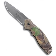 Shenanigan Z Green Camo Ken Onion Folder