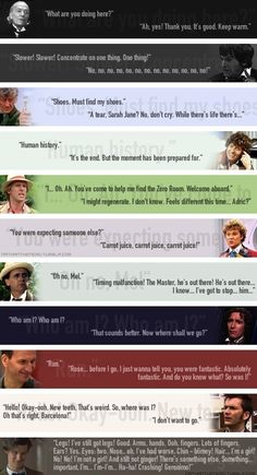 The Doctor's First & Last Words
