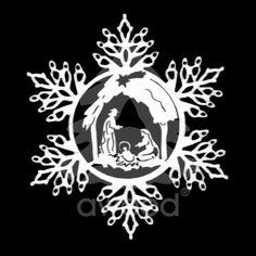 Sněhová vločka - betlém