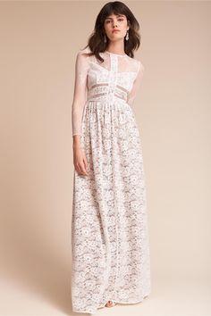 BHLDN's Sau Noche Dress in Ivory
