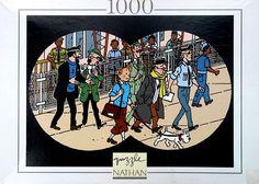 TINTIN  Puzzle - Vol 714 pour Sydney - Nathan
