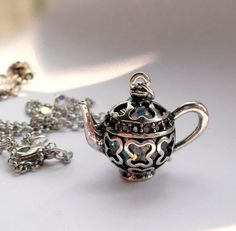 Mad Hatters Tea Party Pendant and Earrings Set by traceyanne, £61.00