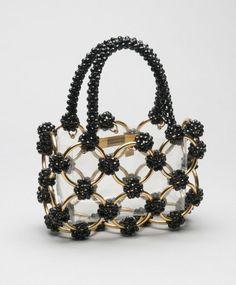 Denim Handbags, Straw Handbags, Fashion Handbags, Purses And Handbags, Fashion Bags, Fashion Fashion, Vintage Purses, Vintage Bags, Vintage Handbags