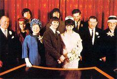 Wedding day of Ringo Starr and Maureen Starkey, 11 february 1965
