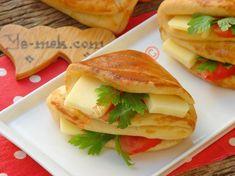 Cepli Sandviç Poğaça Resimli Tarifi - Yemek Tarifleri