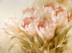 Tulipanes rosas Pósters por Igor Levashov en AllPosters.es