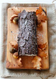 You can make a Gluten-Free Almond Chocolate Raspberry Bûche de Noël for Christmas dessert using this recipe.