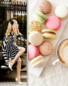 PARISIAN CHIC @Heather Cormier my future bridal shower theme in a nutshell #alliwantismacarons