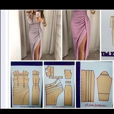 Discover thousands of images about Sunray / sun ray pleat Pattern alterations for side gathered dress Pattern Making Fundamentals: Dart manipulation and pivot points (VIDEO) Find instructions for sewing dress like this Drafting on paper Dress Making Patterns, Skirt Patterns Sewing, Clothing Patterns, Pattern Sewing, Fashion Sewing, Diy Fashion, Fashion Dresses, Couture Dresses, Sewing Clothes