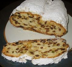 Christstollen -ultimativ Stollen – Ultimate – (recipe with picture) by Delicious Cake Recipes, Easy Cake Recipes, Yummy Cakes, Bread Recipes, Christmas Bread, Christmas Baking, German Christmas, Christmas Christmas, Christmas Recipes