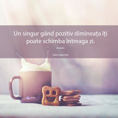 Bună dimineața! Just You And Me, Messages, Motivational Words, True Words, Coffee Break, Motto, Positive Quotes, Good Morning, Psychology