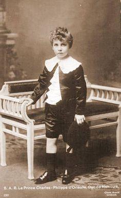 Prince Charles-Philippe d'Orléans, duc de Nemours (1905-1970) fils du prince Emmanuel d'Orléans et de la princesse Henriette de Belgique
