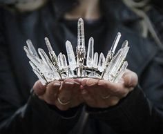 Amazingly beautiful natural crystal crown