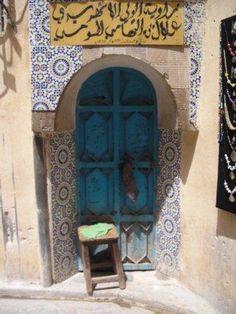 Door in Tangiers, Morocco Creative Arts Safaris - Moorish Delights of Andalusia & Morocco