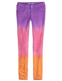 Dye Effect Knit Jeggings | Pants | Clothes | Shop Justice