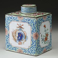 c18th tea cannister, 15k