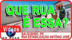 VÍDEOS DE RUAS - PE - SALGUEIRO - R. Estabilização Antônio José INSCREVA-SE em nosso canal para receber novos vídeos. https://www.youtube.com/user/videosderuas?sub_confirmation=1  CURTA NOSSA FAN PAGE: https://www.facebook.com/videosderuas  Veja mais em: http://www.videosderuas.com.br/