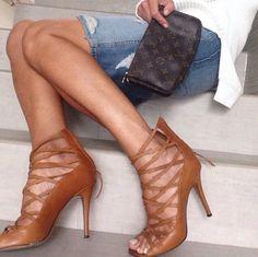 Isabel marant heels and denim
