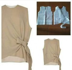 Easy sewing hacks are available on our website. Easy sewing hacks are available on ou. Blouse Patterns, Clothing Patterns, Blouse Designs, Sewing Patterns, Fashion Sewing, Diy Fashion, Sewing Clothes, Diy Clothes, Kleidung Design