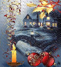 Christmas Winters Night .