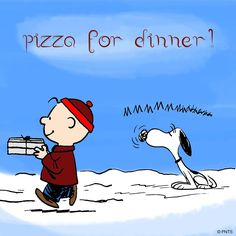 Winter afternoons Snoopy