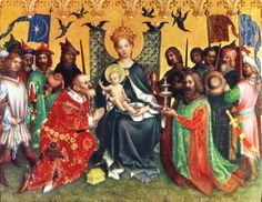 Stefan Lochner (German artist, 1400-1451) Adoration of the Magi 1440s