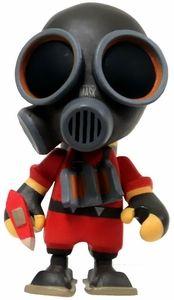 Team Fortress 2 Portable Mercs Mini Figure Red Pyro New!