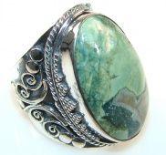 Ocean Jasper Sterling Silver Rings