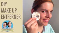 Abschmink Pads mit Kokosöl I Make Up Entferner Hausmittel  I DIY