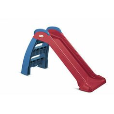 This Little Tikes kid's slide is just the right size for your little one. The slide promotes fitness, balance and coordination and is perfect for indoor or outdoor use. Toddler Swing Set, Toddler Slide, Kids Slide, Toddler Toys, Baby Slide, Baby Toys, Kids Toys, Little Tikes, Outdoor Toys