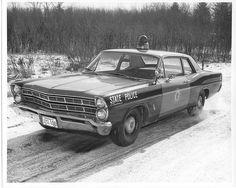 1967 Ford Custom Cruiser Cop Car