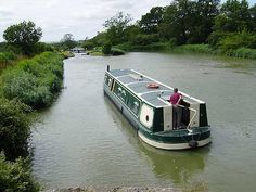 Have always wanted to spend some time this way! 'Holiday boat' on the Avon Canal near Bath, UK