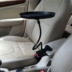 TOOGOO Car Steering Wheel Tray Table Laptop Stand Work Desk Drink Holder Clip Mount NEW R