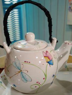 Pintura sobre ceramica Cecil Somosa http://www.manosalaobra.tv/