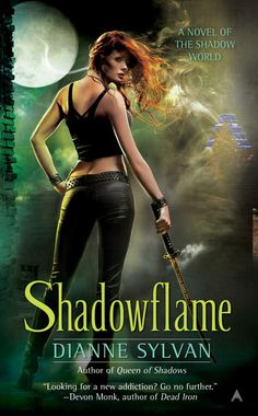 Shadowflame by Dianne Sylvan - Book 2 of the Shadow World series. (Click on image for review)