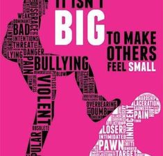 Powerful anti bullying slogans to be used by kids and parents to help stop bullies in their tracks. Help end bully words, pics & post online and at school. Anti Bullying Week, Anti Bullying Campaign, Bullying Lessons, Anti Bullying Activities, Stop Bullying Posters, Cyber Bullying Poster, Stop Bullying Quotes, Stop Cyber Bullying, Bullying Facts